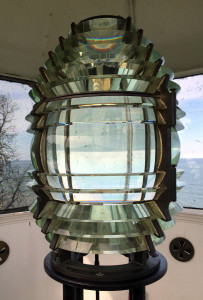 Third-and-a-half Order Fresnel Lens at the Sodus Bay Lighthouse Museum