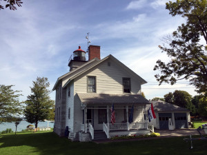 Sodus Bay Lighthouse Museum in Sodus Point, NY