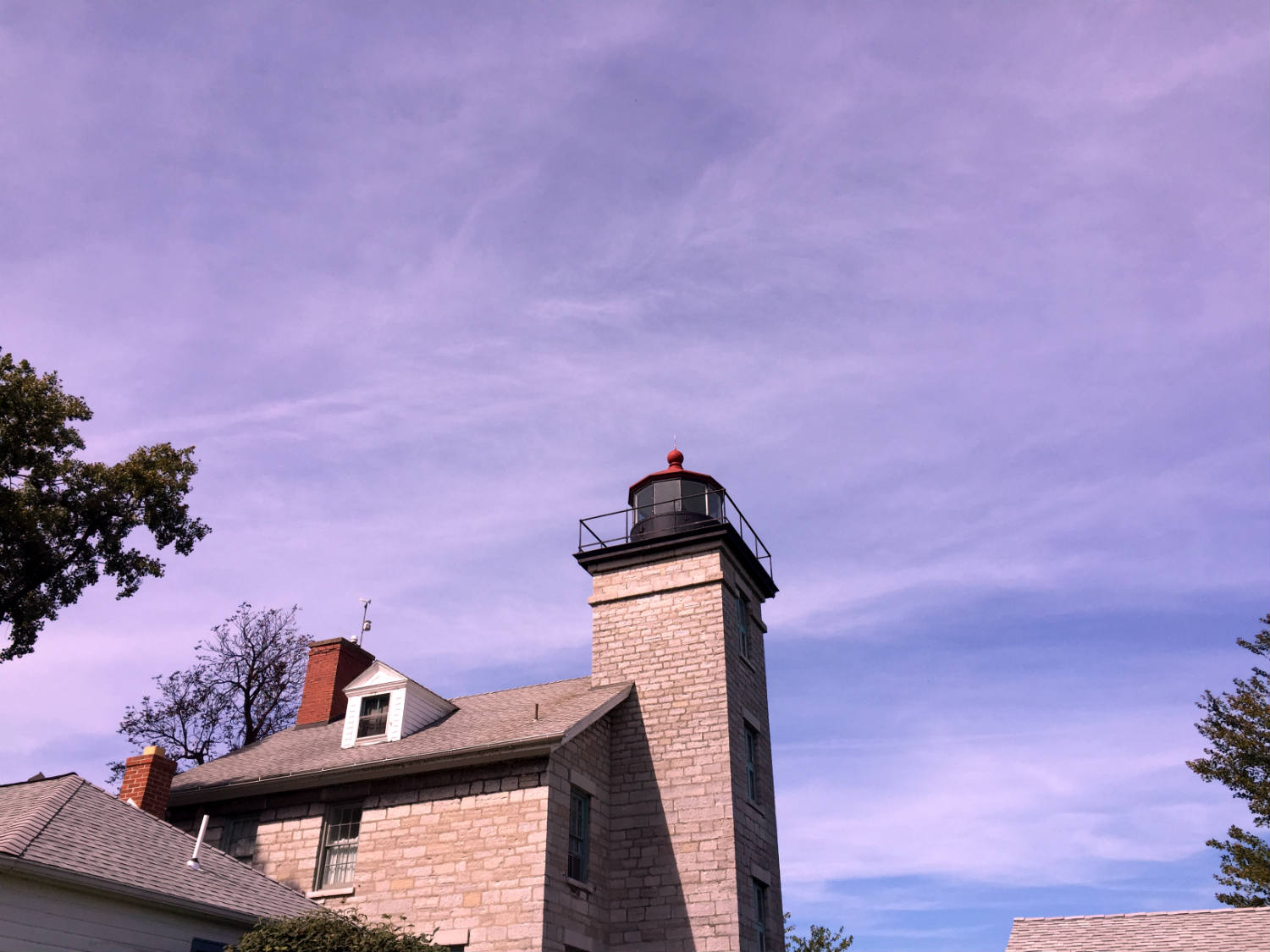 Sodus Bay Lighthouse in Sodus Point, NY