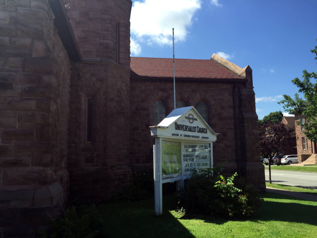 Pullman Memorial Universalist Church in Albion, New York