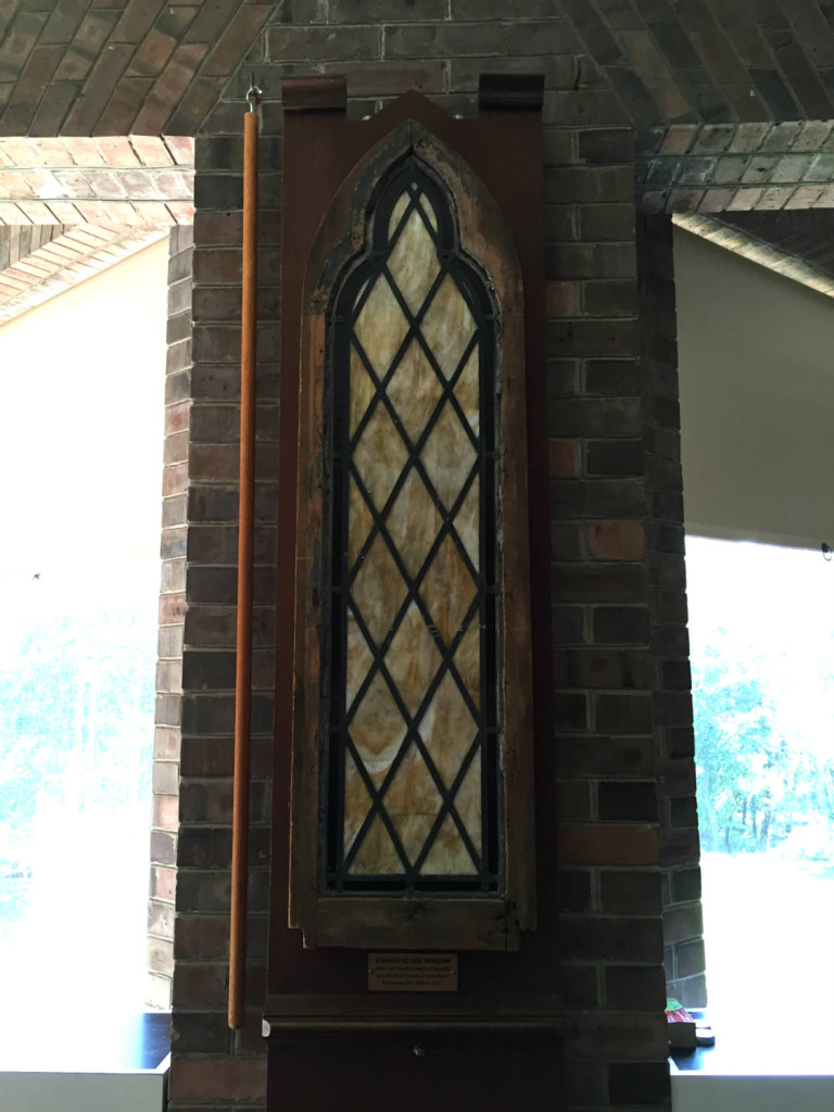 Stained Glass Window from Original First Unitarian Church of Rochester