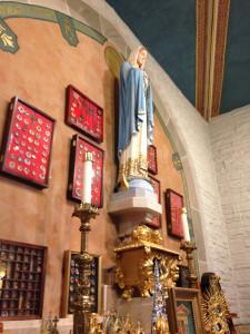 Relic Collection at St. John Gualbert's Church in Cheektowaga, NY