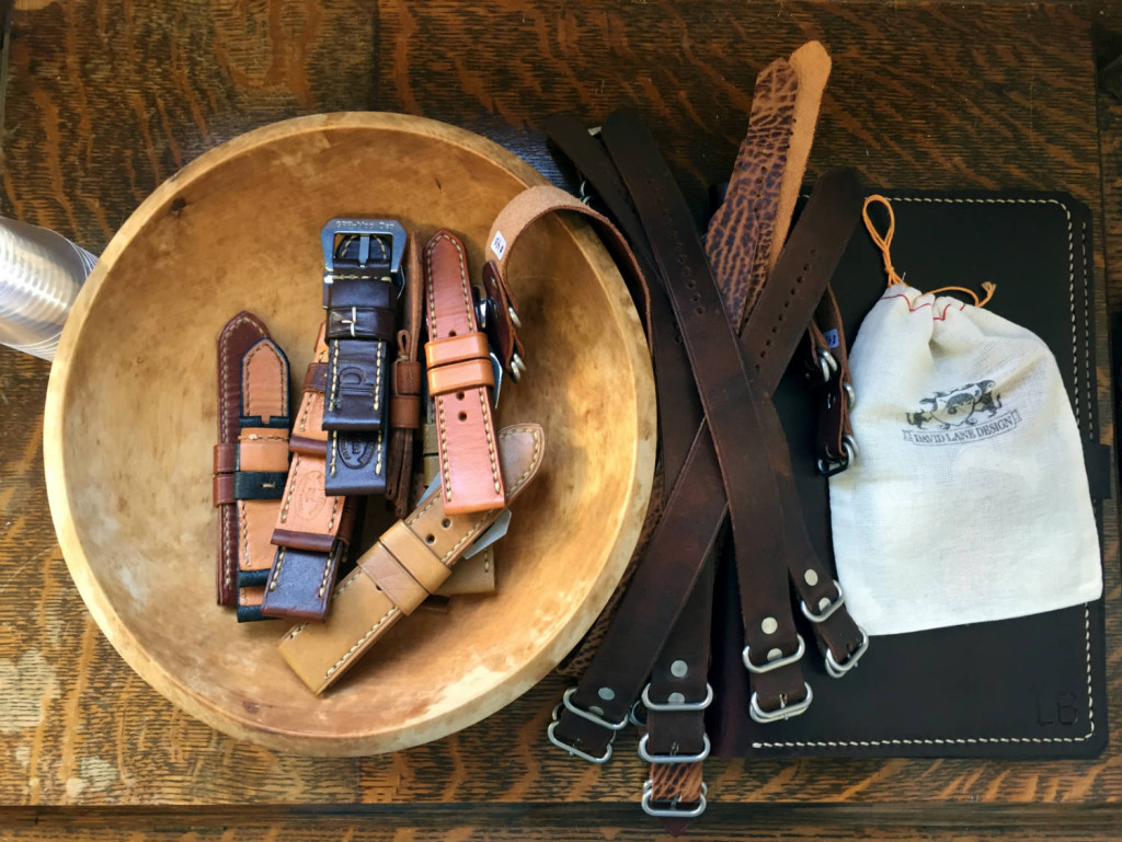 David Lane Designs Leather Watch Bands in Rochester, NY