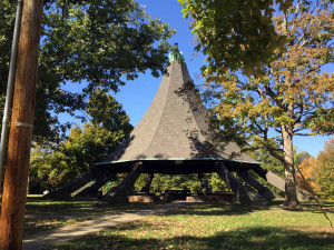 Cherokee Park Pavilion in Louisville, Kentucky