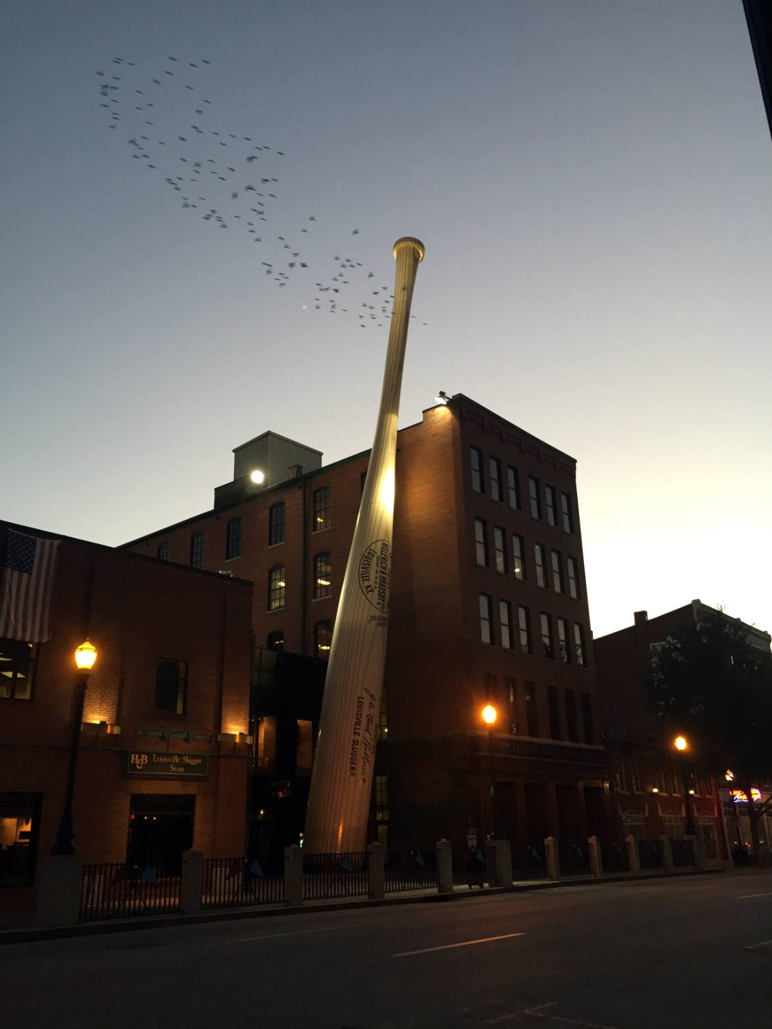 Louisville Slugger Museum and Factory in Louisville, Kentucky