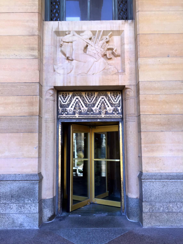 Entranceway to Buffalo City Hall