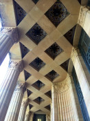 Portico Ceiling at Buffalo City Hall