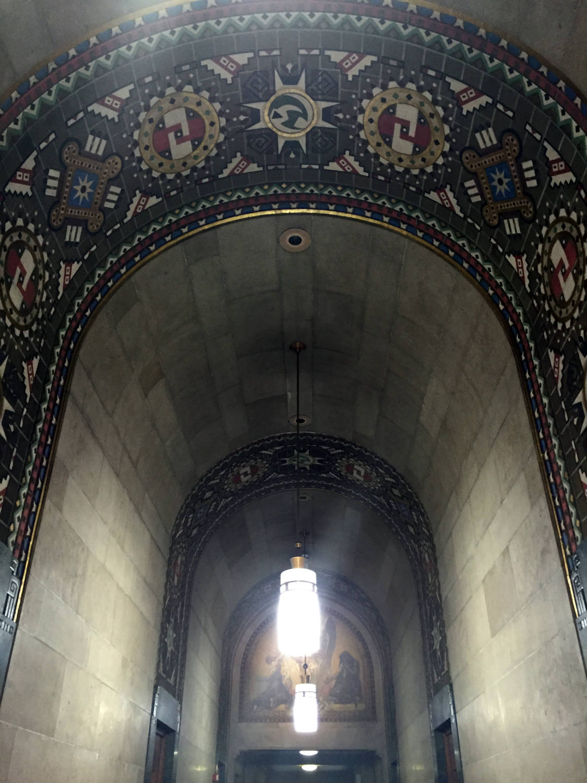 Hallway Ceiling in Buffalo City Hall