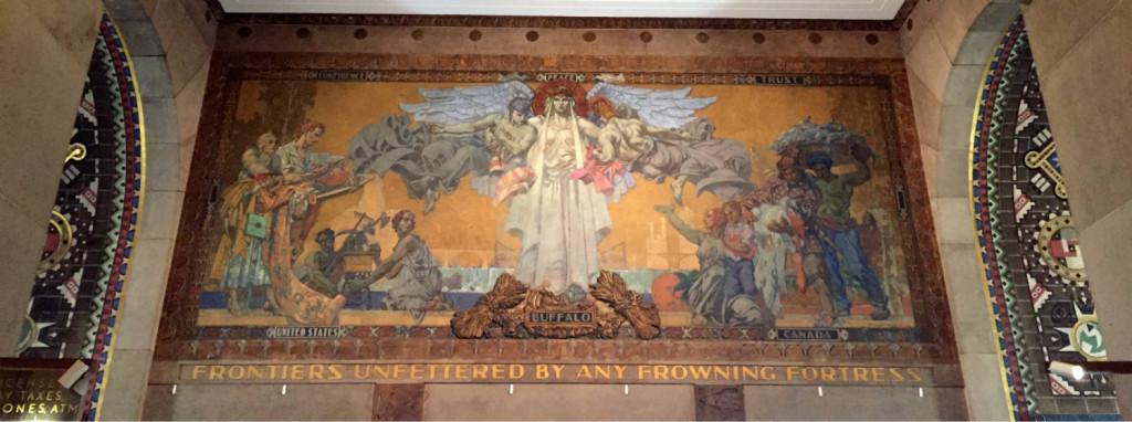 Lobby Mural in Buffalo City Hall