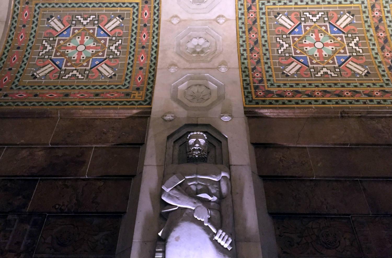 Lobby in Buffalo City Hall