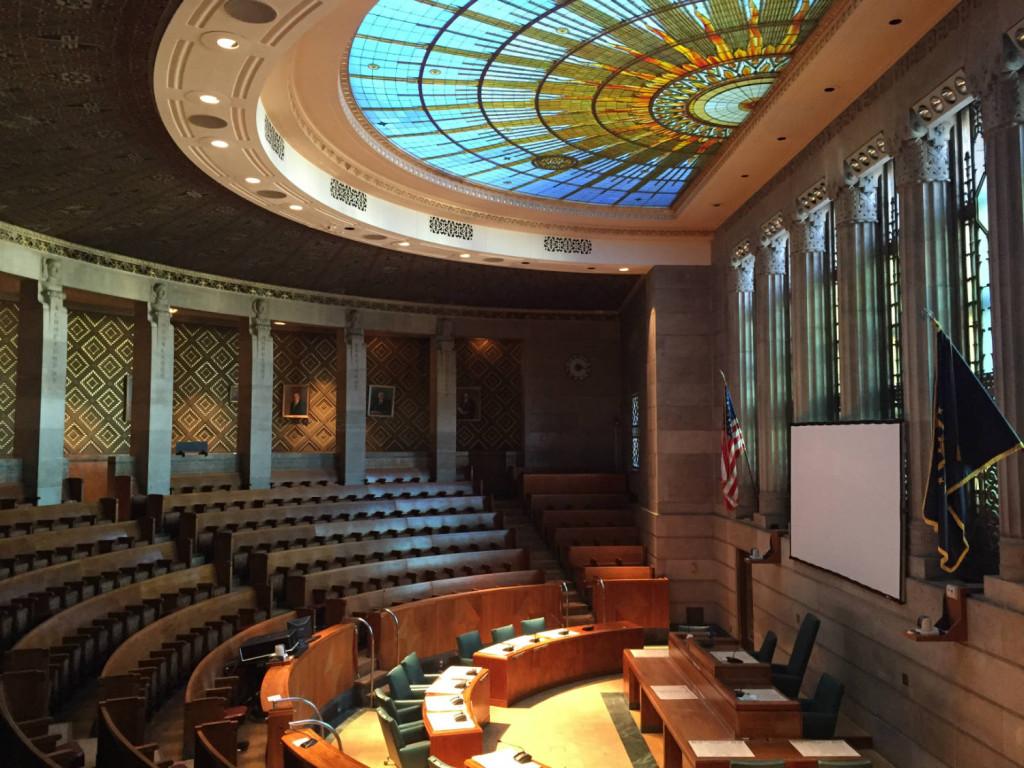 Council Chamber in Buffalo City Hall