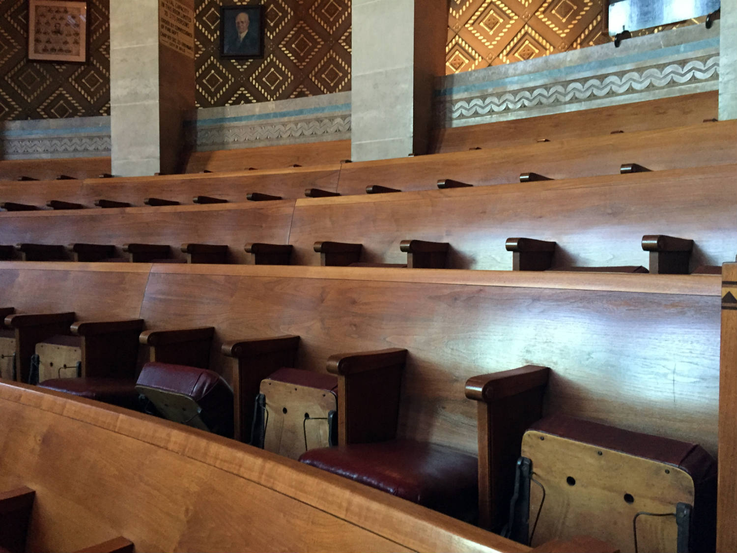 Council Chamber Seating in Buffalo City Hall