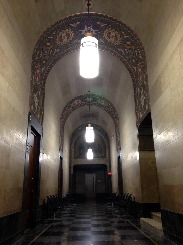 Hallway in Buffalo City Hall
