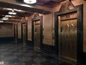 Elevators in Buffalo City Hall