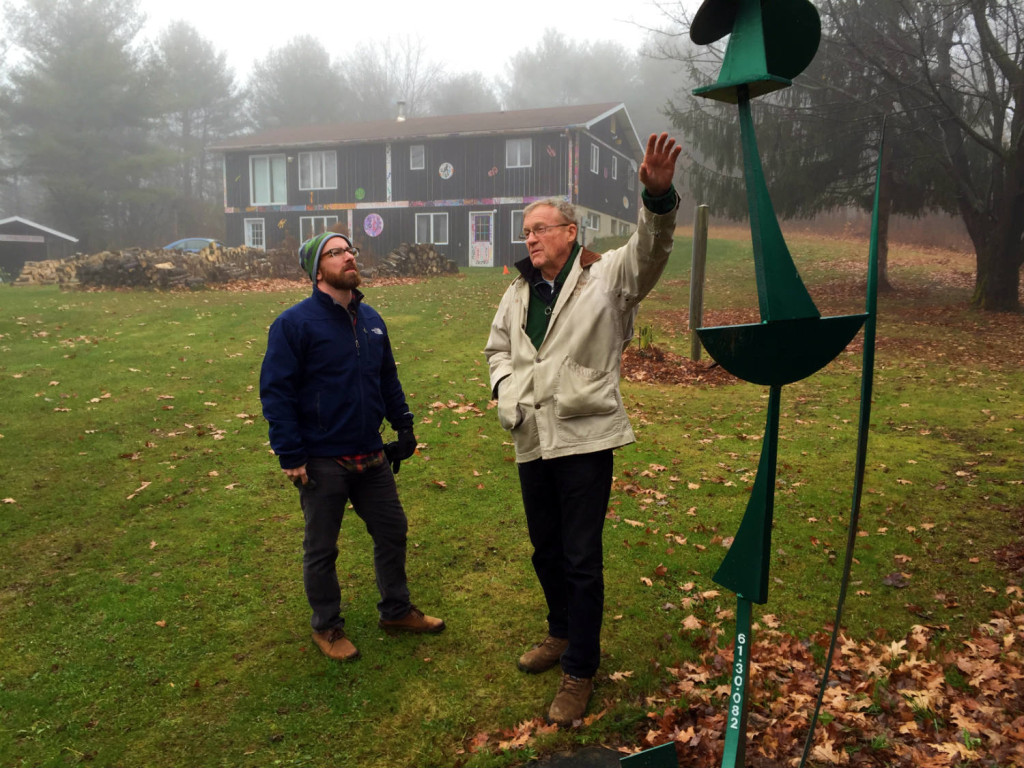 The C Lyon Sculpture Park in Horseheads, New York Cornelius Lyon and Chris Clemens