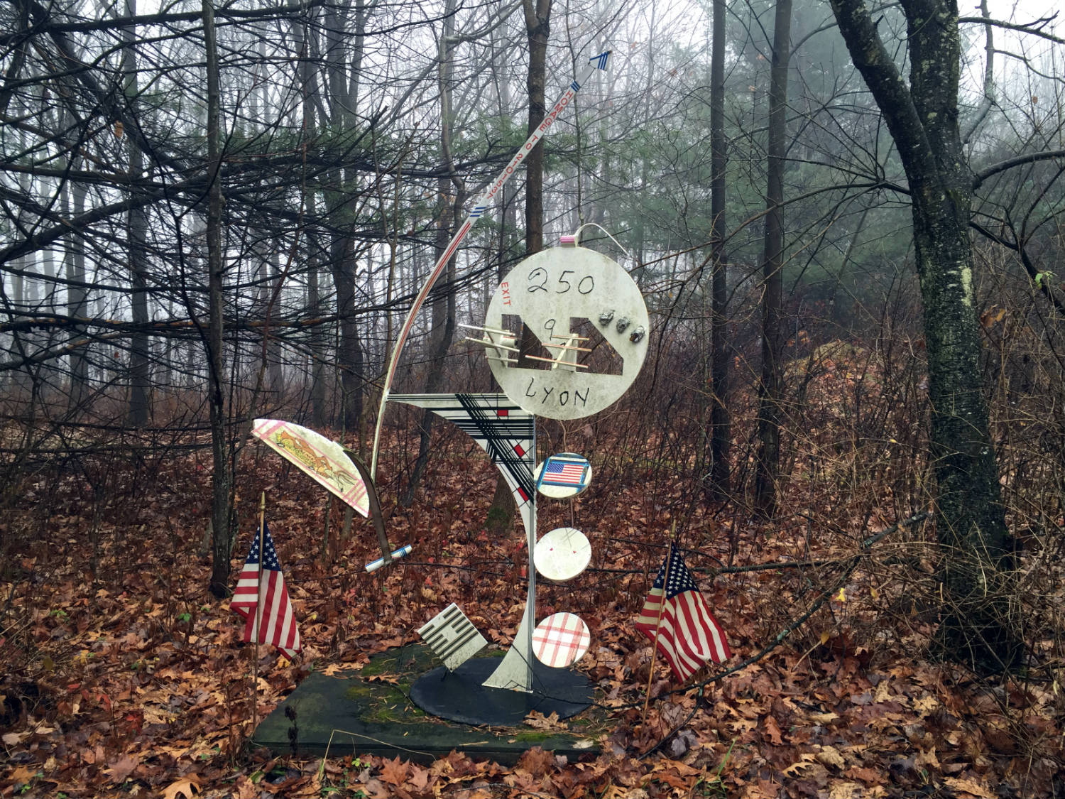 The C Lyon Sculpture Park in Horseheads, New York