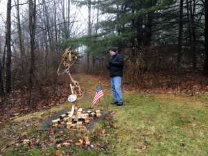The C Lyon Sculpture Park in Horseheads, New York Military Tribute Sculpture