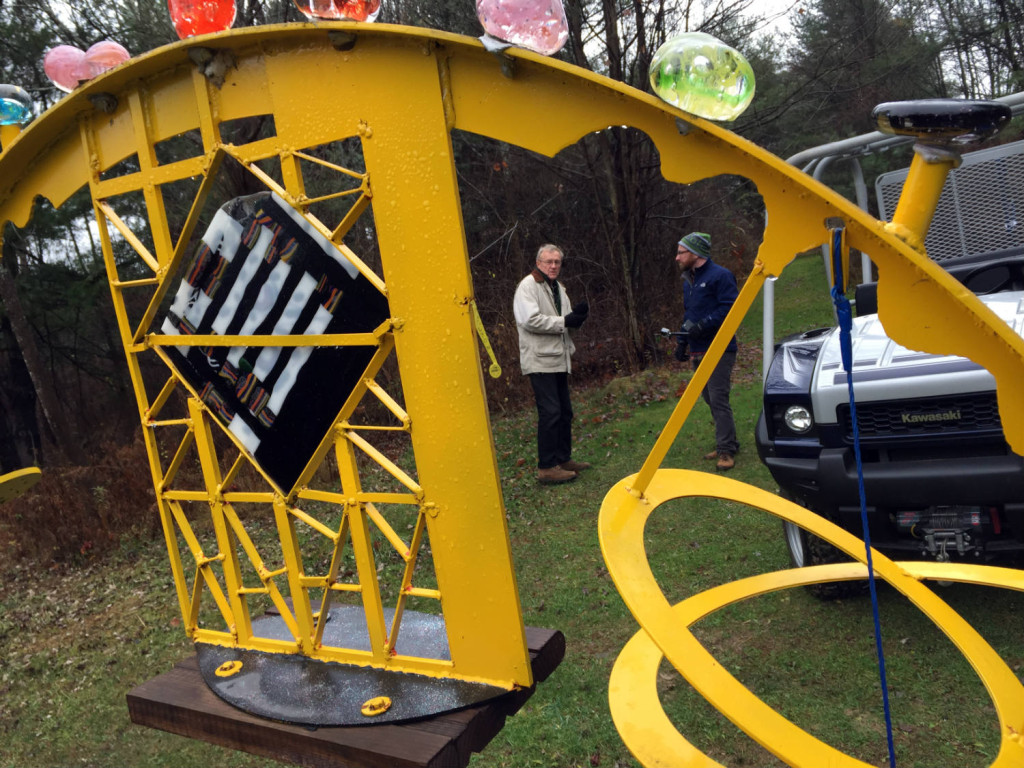 The C Lyon Sculpture Park in Horseheads, New York The C Lyon and Chris Clemens