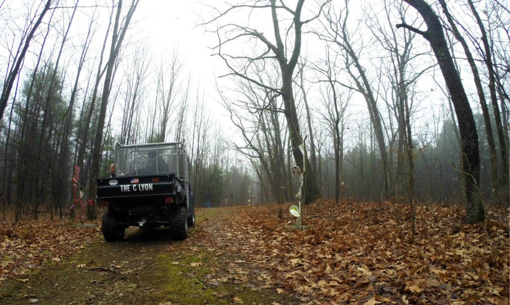 The C Lyon Sculpture Park in Horseheads, New York ATV and Path