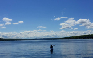 Fishing in Conesus Lake