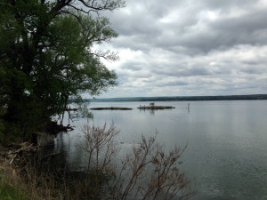 Seneca Lake in the Finger Lakes New York