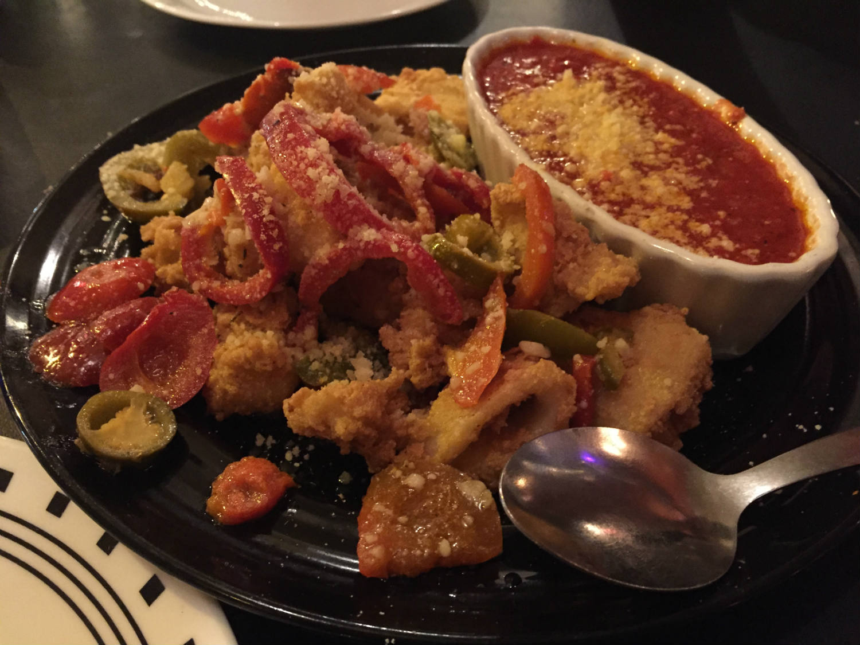 Fried Calamari at Bella Regina in Utica, New York