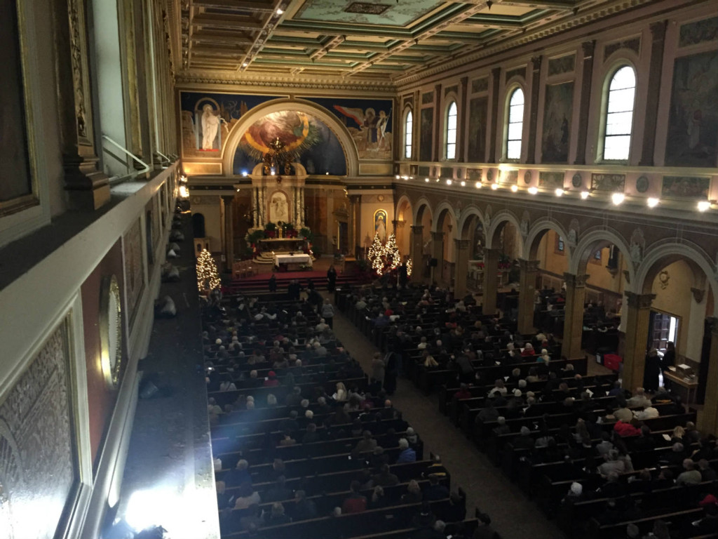Buffalo Mass Mob at St. Luke's Mission in Buffalo, New York