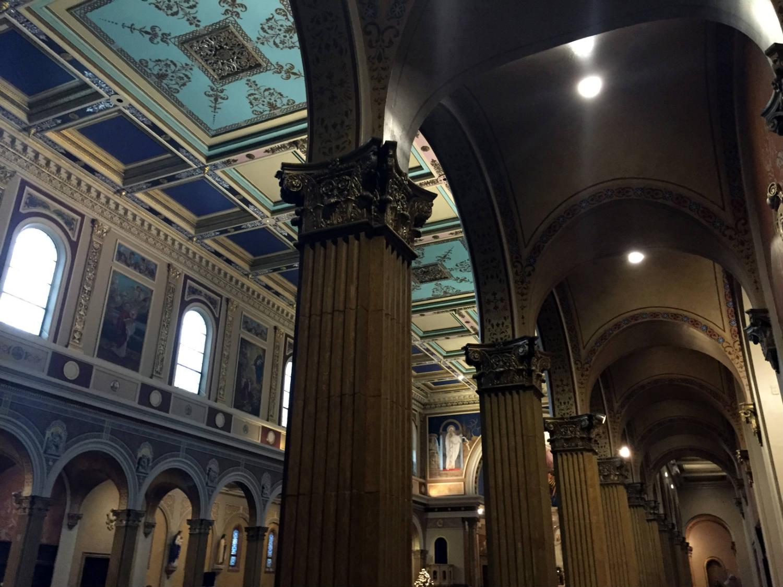 Inside St. Luke's Mission in Buffalo, New York