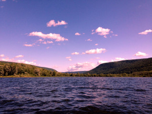 South end of Honeoye Lake in the Finger Lakes New York