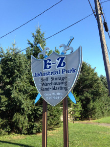 E-Z Industrial Park in Rochester, NY Signage