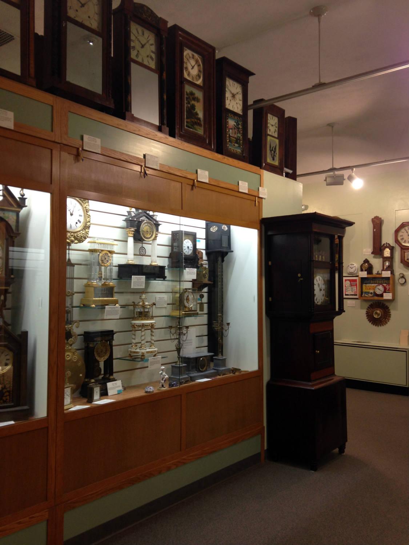 Hoffman Clock Museum in Newark, New York