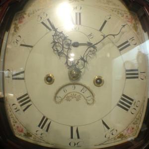 Clock Dial in the Hoffman Clock Museum in Newark, New York