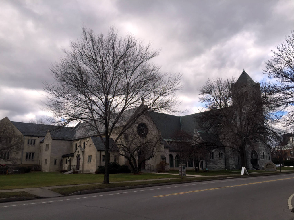 Third Presbyterian Church on East Ave in Rochester, NY