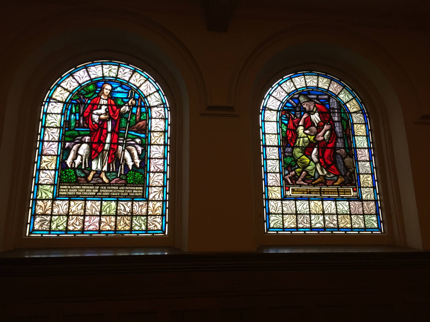 Stained Glass Windows at Third Presbyterian Church in Rochester, NY