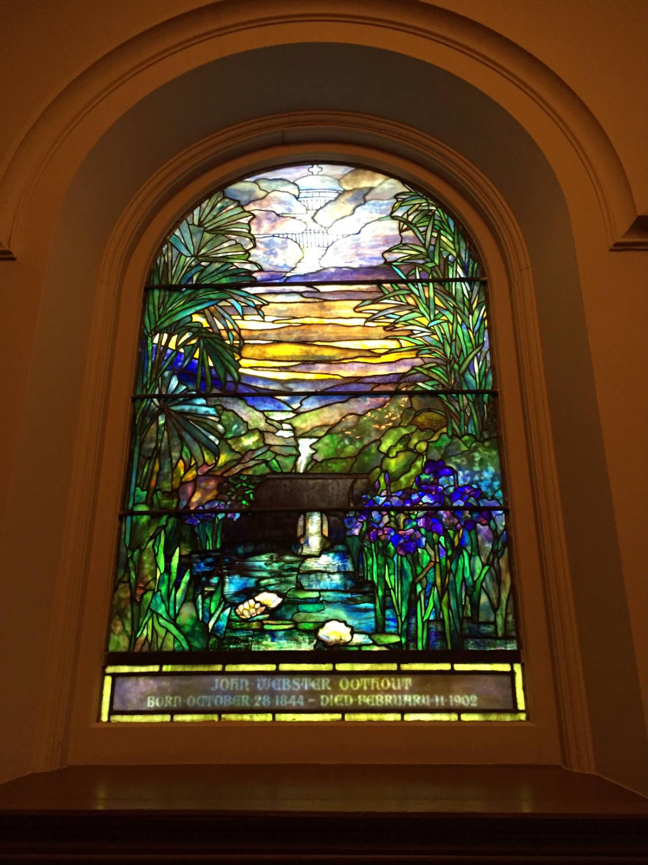 Louis Comfort Tiffany Window in Third Presbyterian Church in Rochester, NY