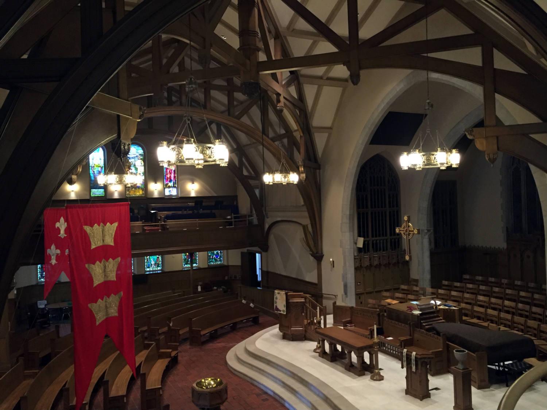 Main Sanctuary at Third Presbyterian Church in Rochester, NY