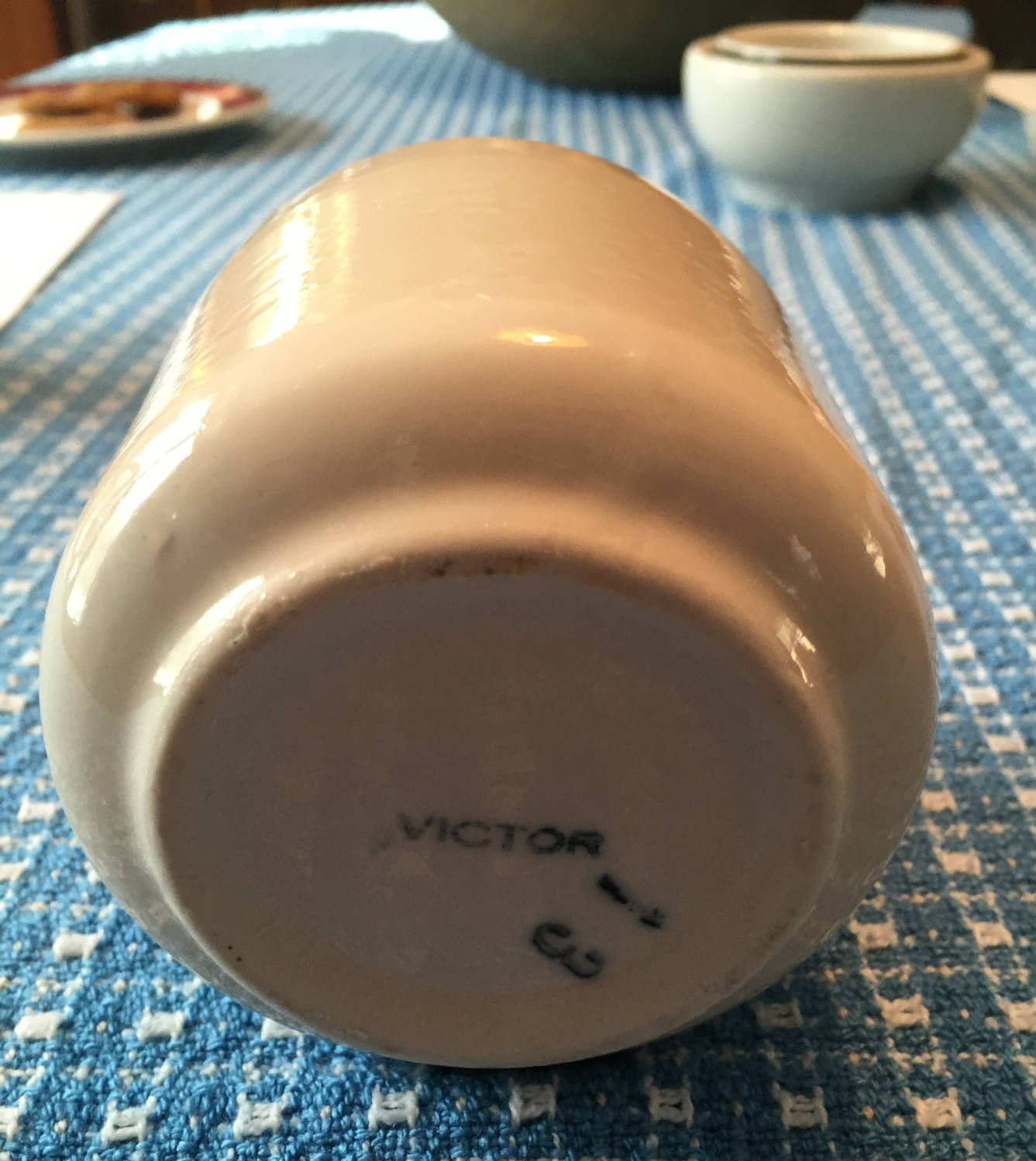 Bottom of Original Style Victor Coffee Mug