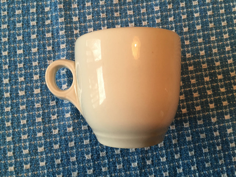 White Victor Mug