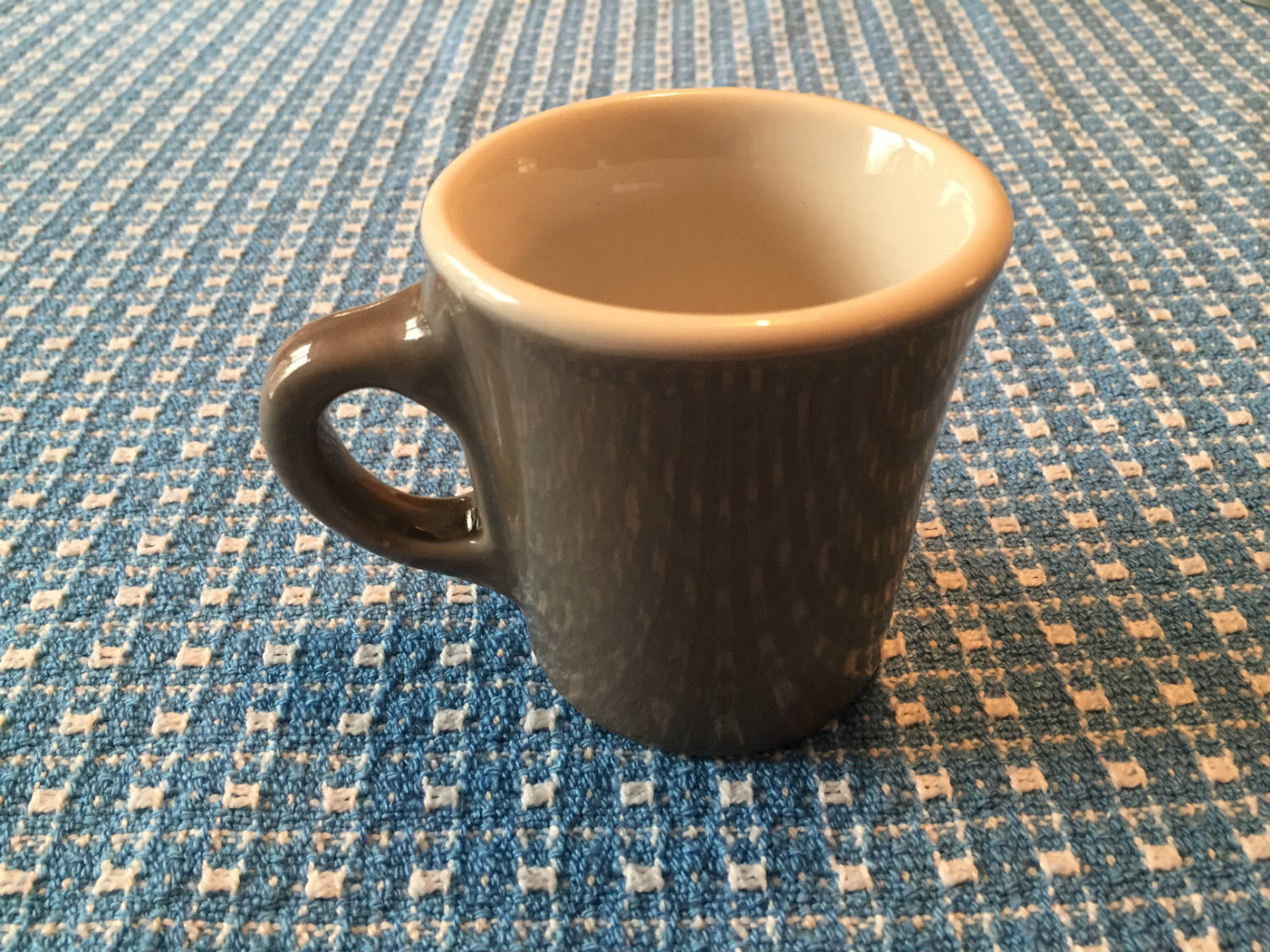 Grey Victor Coffee Mug
