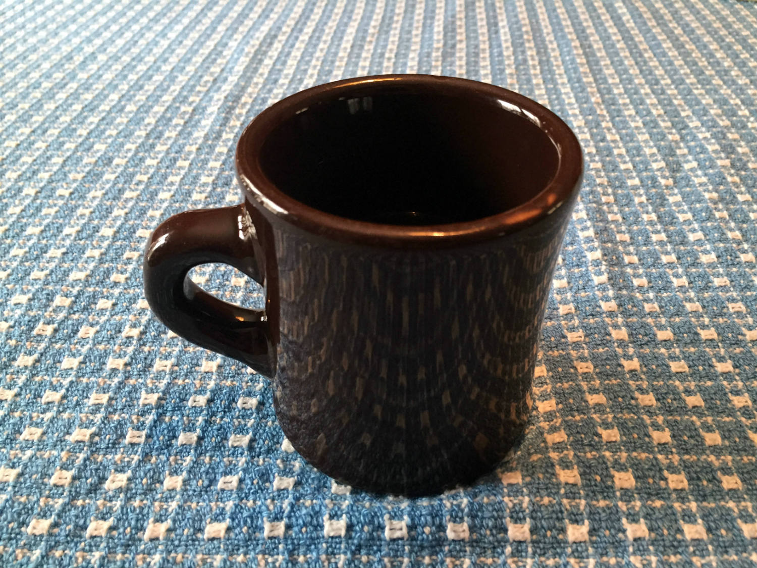 Brown Victor Coffee Mug