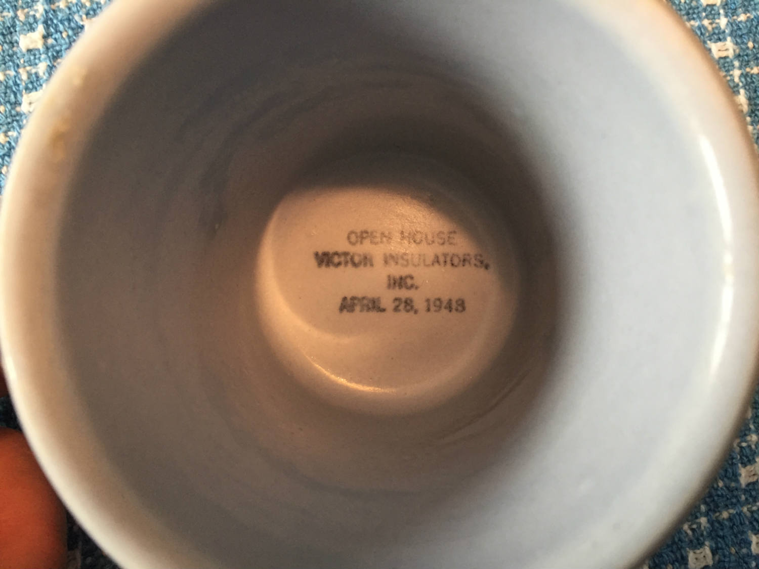 Special Edition Victor Coffee Mug from 1948