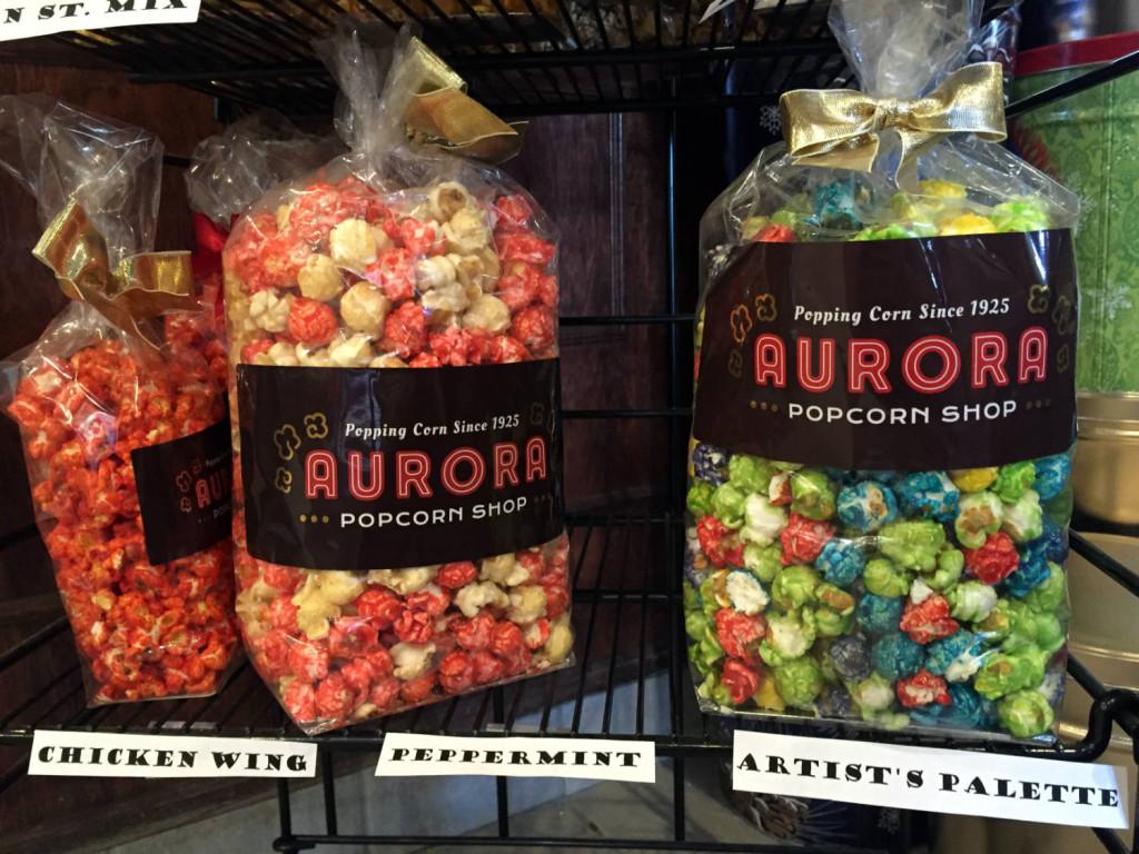 Aurora Popcorn Flavors in East Aurora, New York