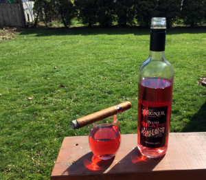 Wagner Grape Juice and Cigar