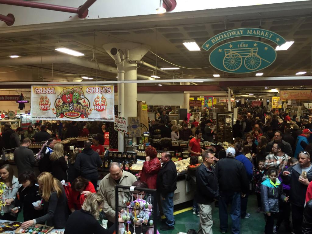 Broadway Market in Buffalo, New York