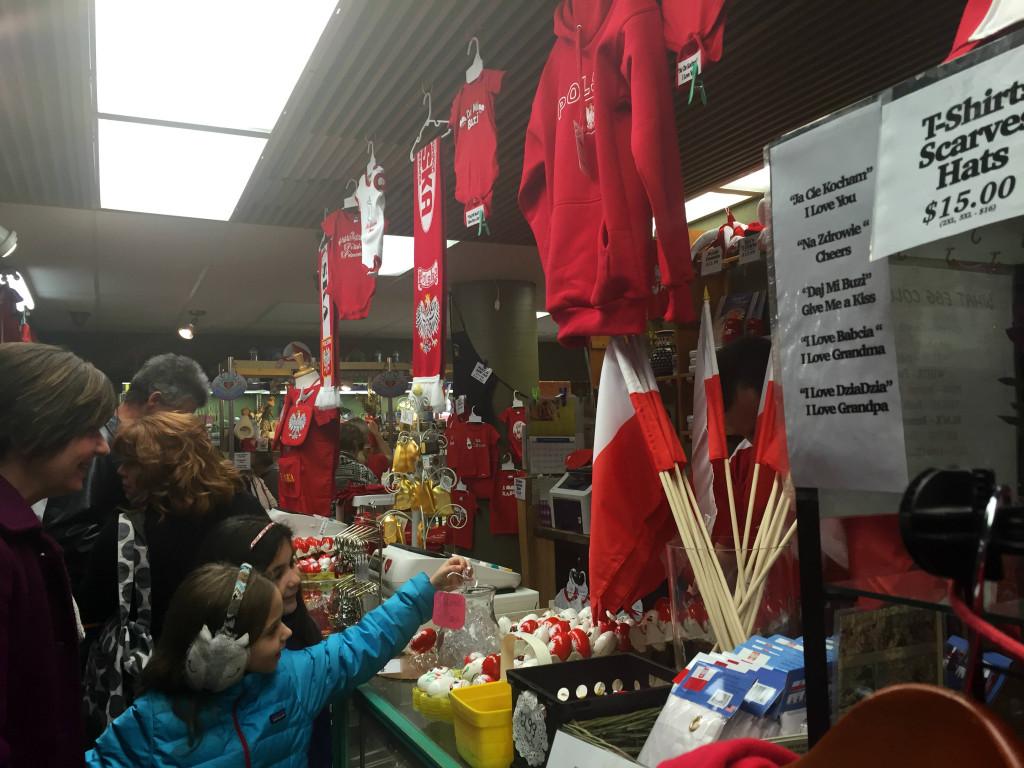 Polska Gear at the Broadway Market in Buffalo, New York