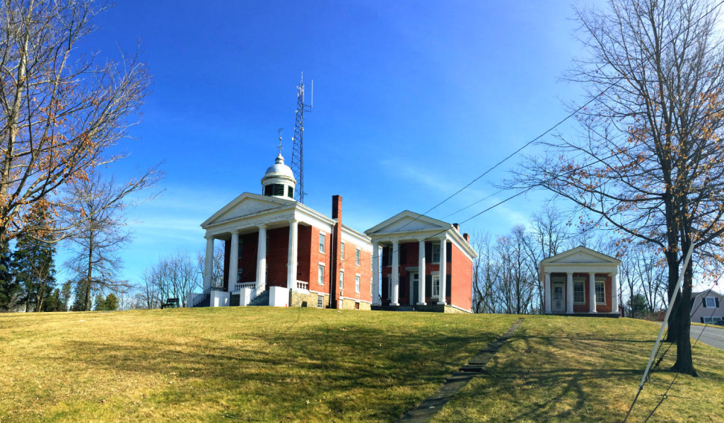 The Seneca Courthouse Complex of Ovid, New York