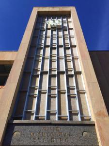 Clock Tower on Ovid Municipal Building in Seneca County