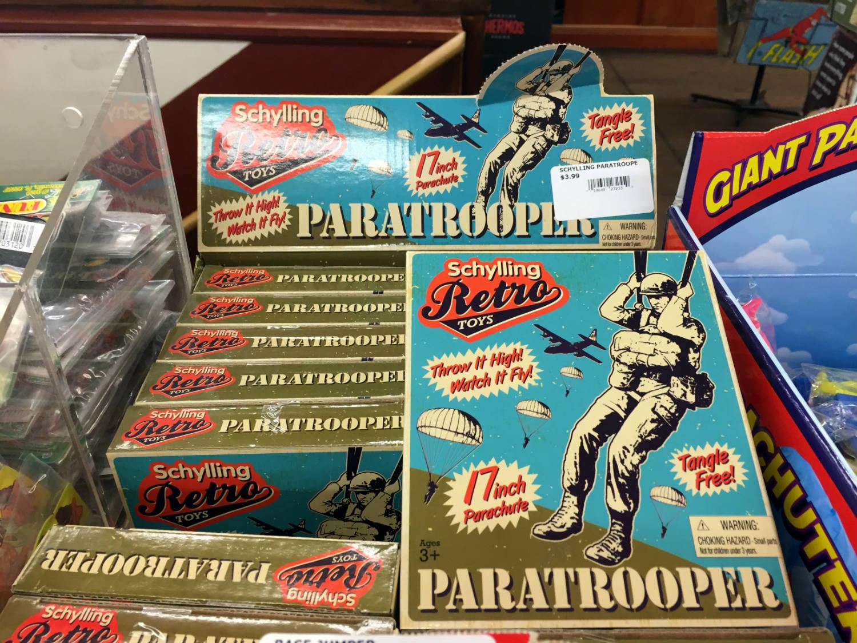 Vintage Toys at Vidler's in East Aurora, New York