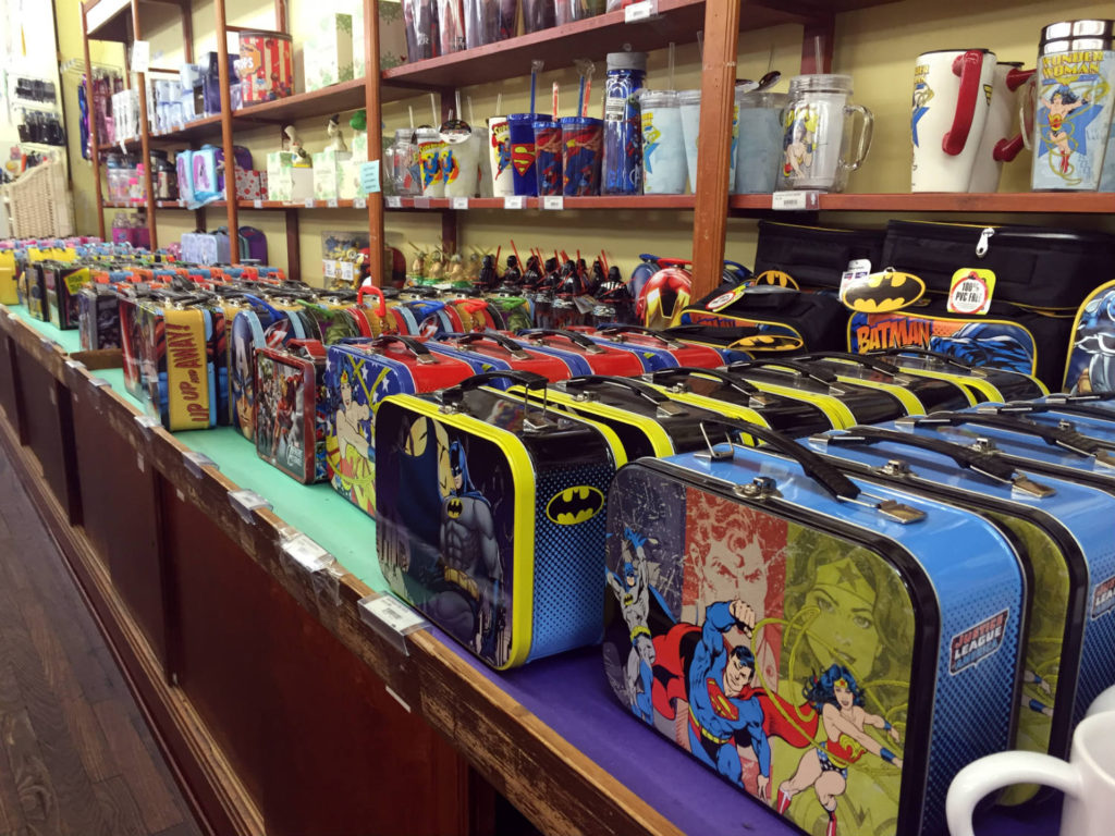 Metal Lunchboxes at Vidler's in East Aurora, New York