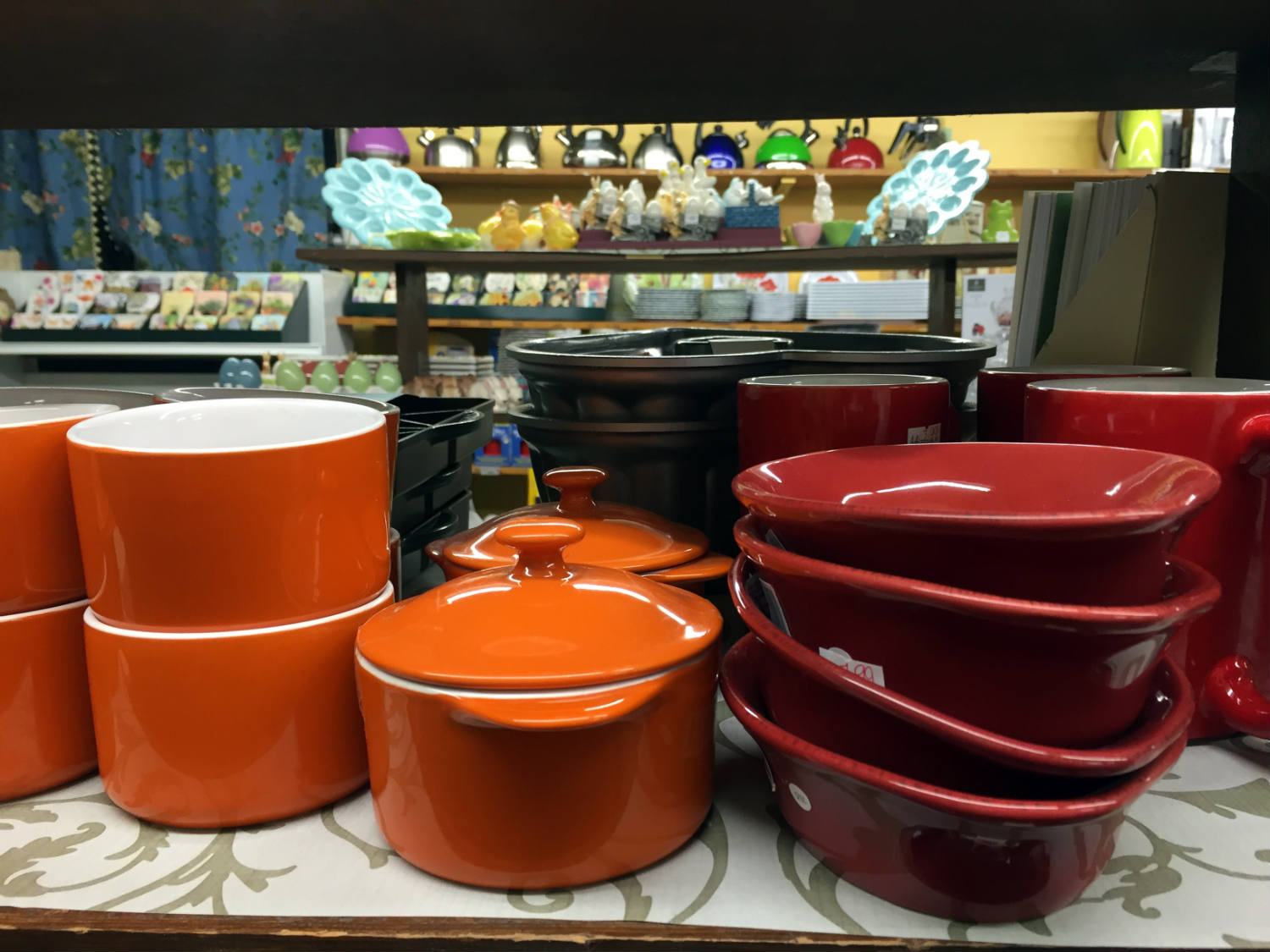 Cookware at Vidler's in East Aurora, New York